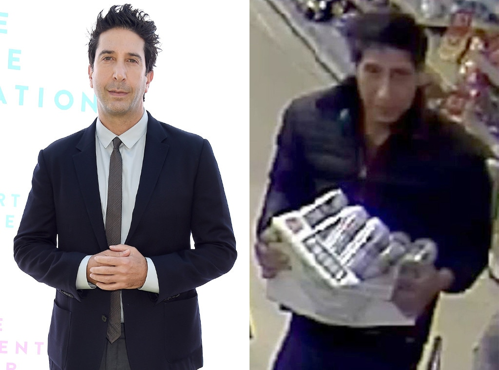 David Schwimmer, Look A Like Suspect