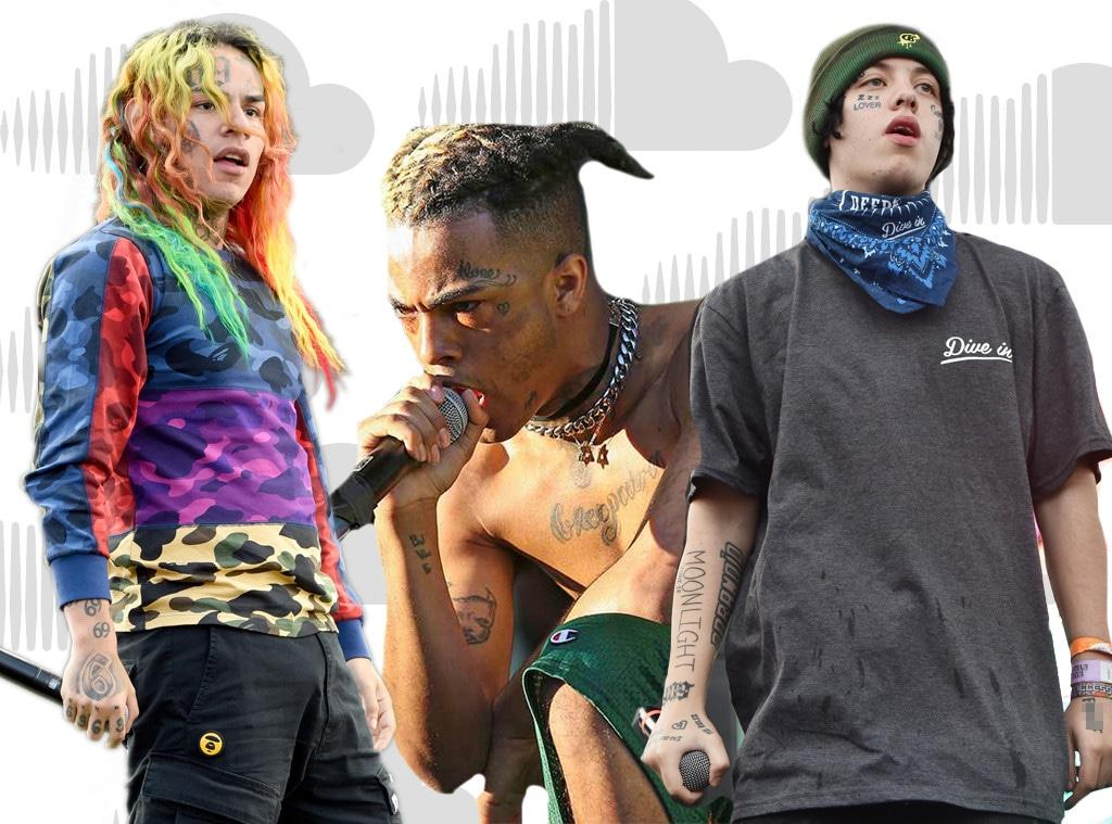 Soundcloud Rappers, Lil Xan, 6ix9ine, Tekashi 69, XXXTentacion