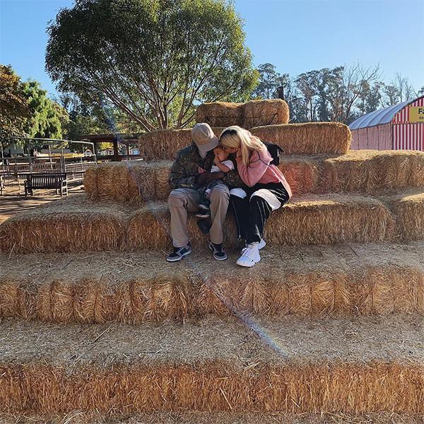 Kylie Jenner, Travis Scott, Baby, Stormi Webster, Pumpkin Patch, Underwood Family Farms