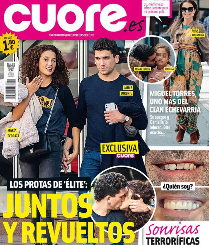Elite, Maria Pedraza, Jaime Lorrente