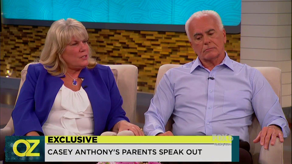 Casey Anthony, Parents, George Anthony, Cindy Anthony, Dr. Oz Show