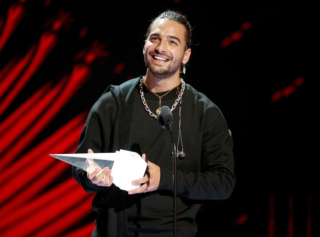 Maluma, 2018 Latin American Music Awards, Show
