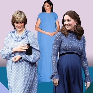 Royal Pregnancies, Queen Elizabeth II, Princess Diana, Sarah Ferguson, Kate Middleton, Meghan Markle