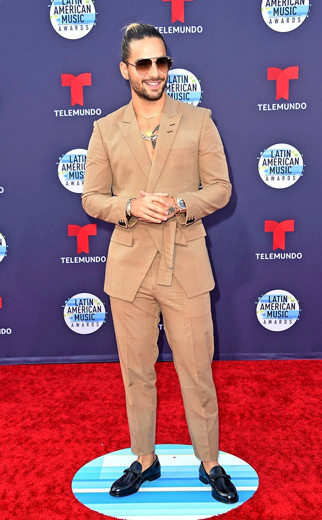 Maluma -  The world-famous performer is set to receive the Extraordinary Evolution Award.