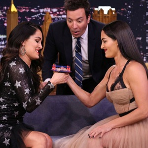 The Tonight Show, Nikki Bella, Brie Bella, JimmyFallon