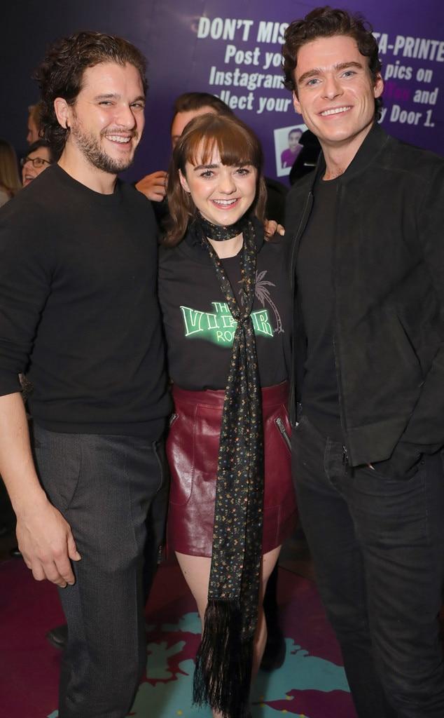 Kit Harington, Maisie Williams, Richard Madden
