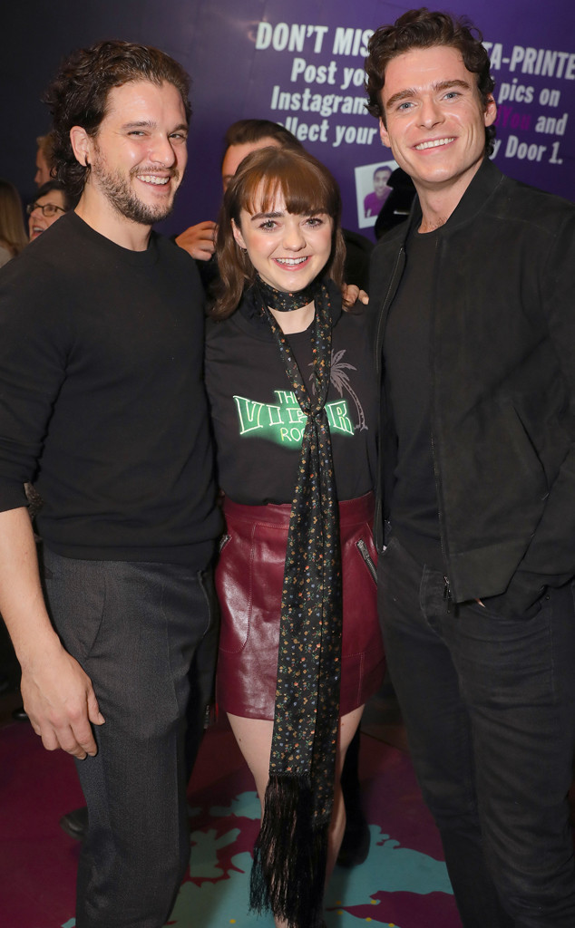 Kit Harington, Maisie Williams, Richard Madden