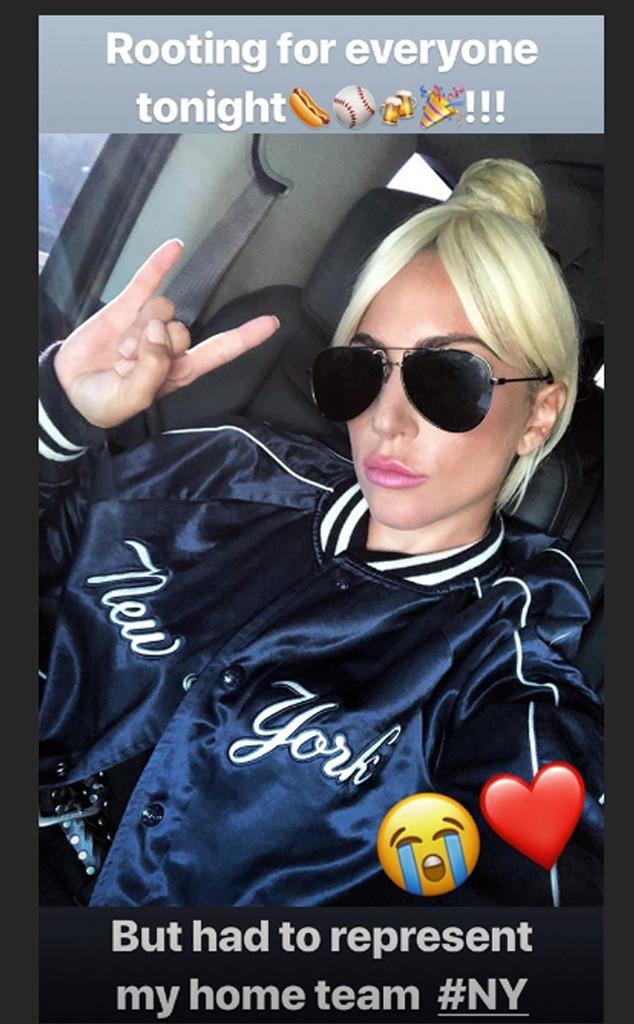 Lady Gaga From Mlb World Series 2018 Star Sightings E News