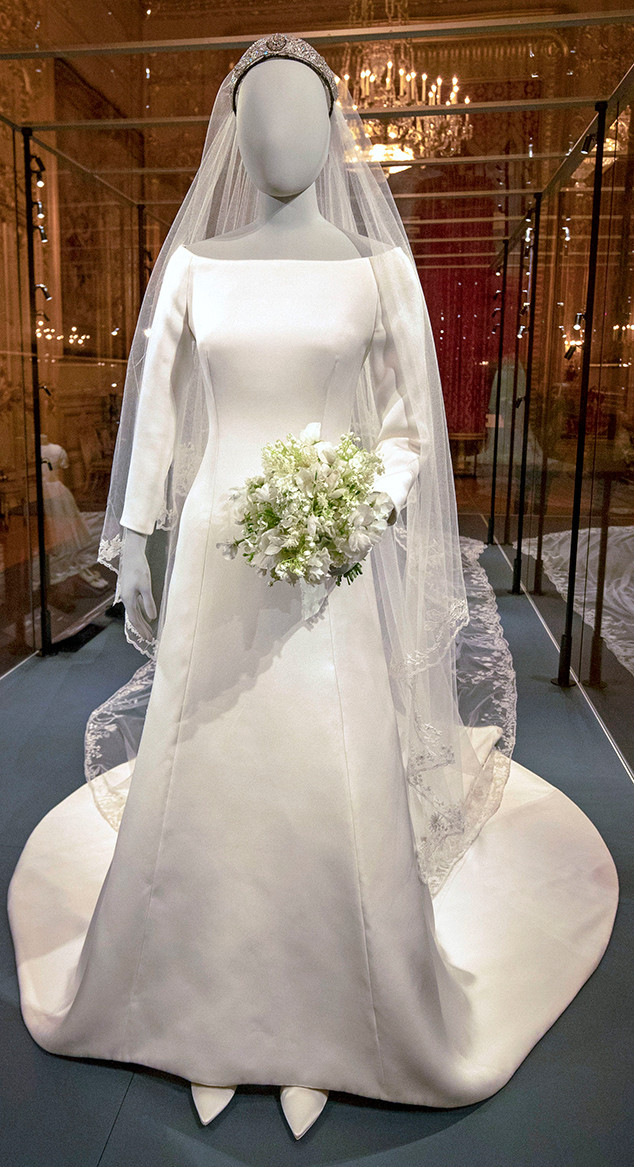 Meghan Markle, Wedding Dress Exhibition