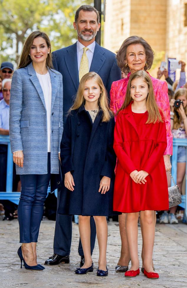 Letizia, Felipe, Sofia, Leonor