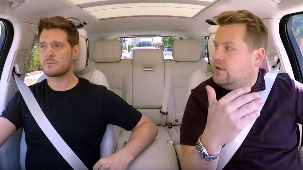 Michael Bublé, James Corden