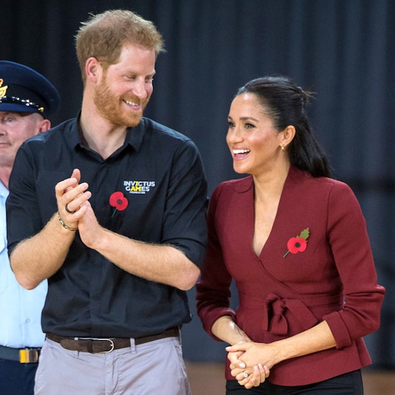 Meghan Markle's First Official Twitter Photo Is a Tribute to Prince Harry