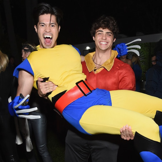 Please Enjoy Noah Centineo and Ross Butler Having a Dance Party in Halloween Costumes