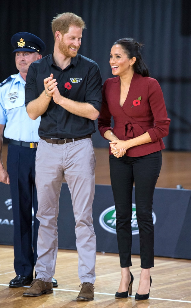 Prince Harry, Meghan Markle, Duchess of Sussex, Invictus Games 2018