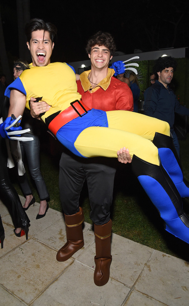 Ross Butler, Noah Centineo, Casamigos Halloween Party 2018