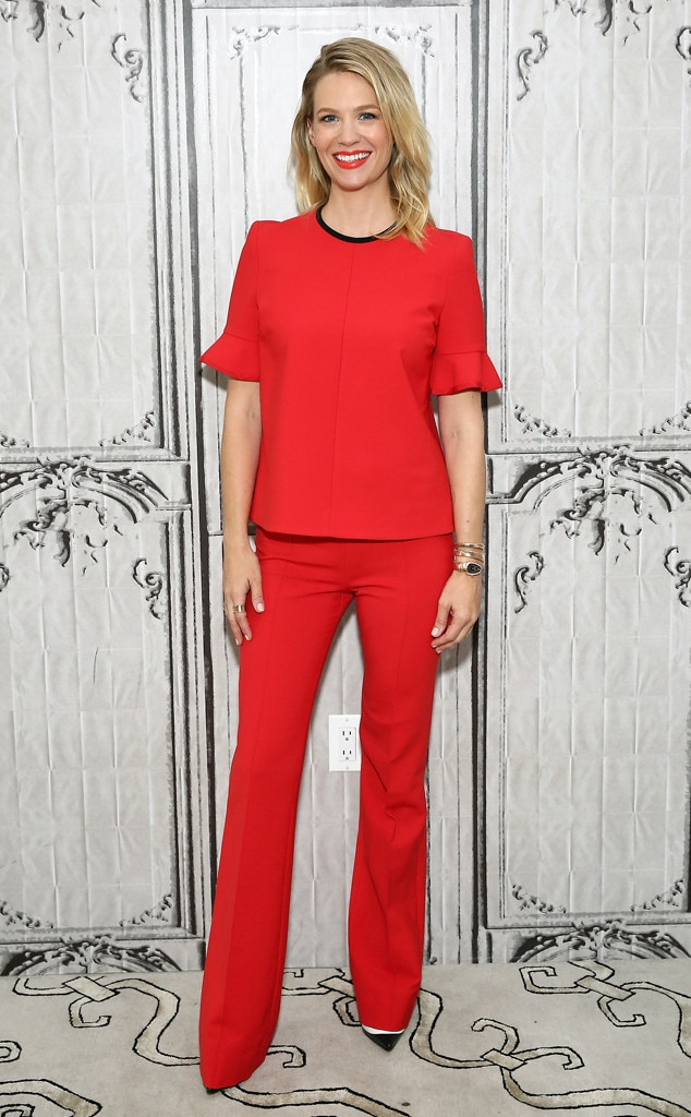January Jones, Celebs Wearing Victoria Beckham