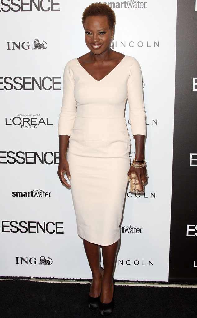 Viola Davis, Celebs Wearing Victoria Beckham