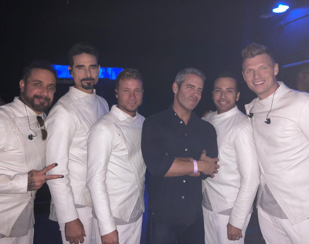 Andy Cohen, Backstreet Boys, Instagram