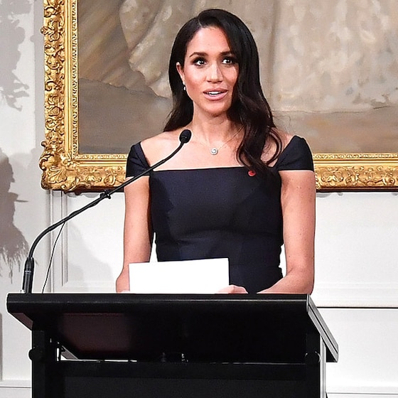 Meghan Markle Nails Speech About Women's Right to <em>america</em> Vote