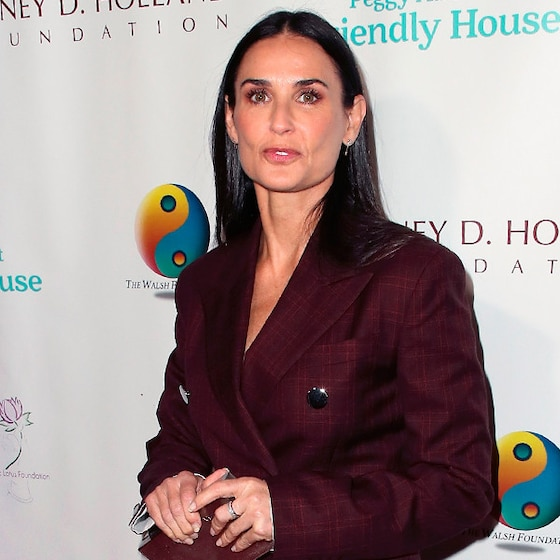 "Demi Moore Gets Brutally Honest About Overcoming Her ""Self-Destructive"" Spiral"