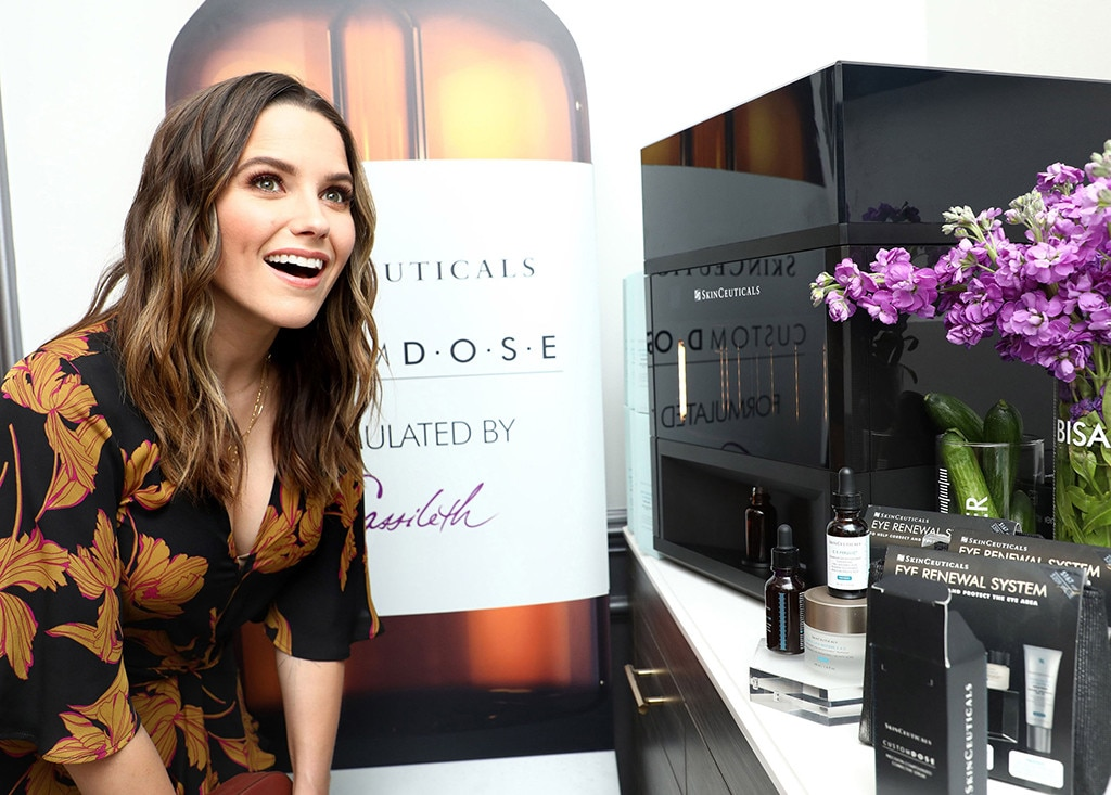 SkinCeuticals Custom D.O.S.E Launch Event - Sophia Bush  gets pampered with some customized swag.