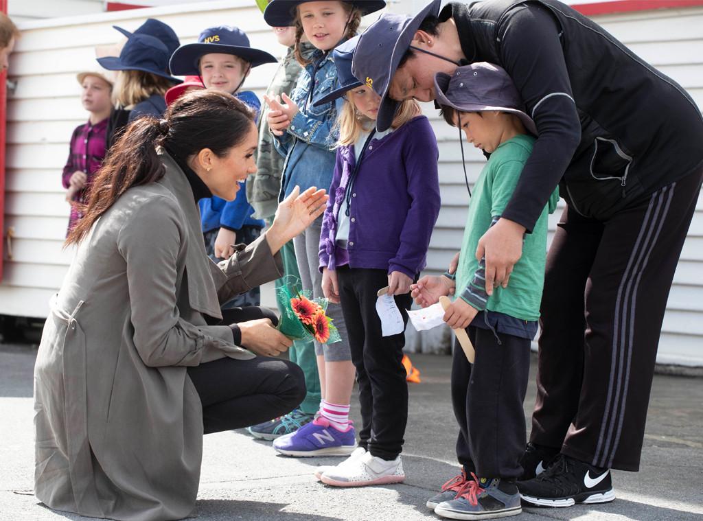 Meghan Markle, New Zealand, Children