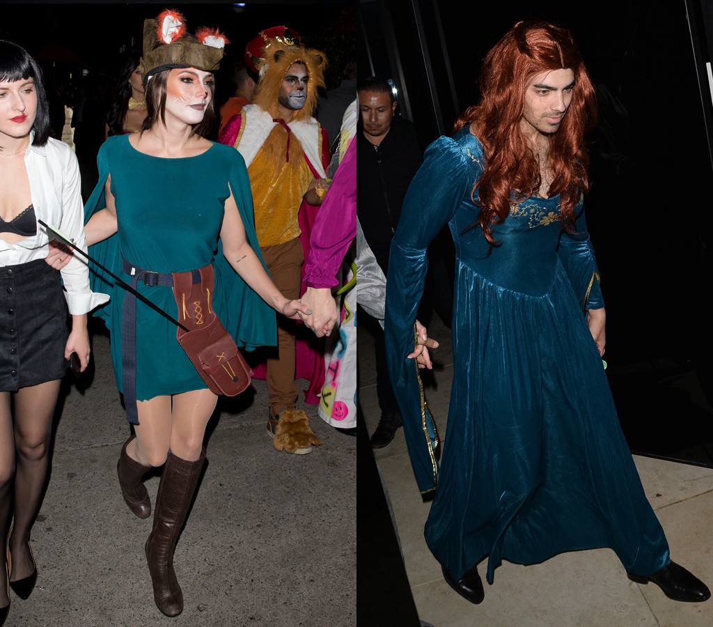 Ashley Greene, Joe Jonas, Halloween