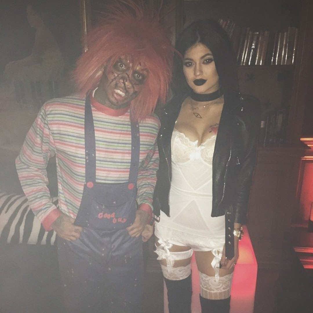 Till Death Do Us Part -  In 2014, Kylie and her former beau went as the terrifying duo from Bride of Chucky.