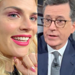 Busy Philipps, Stephen Colbert