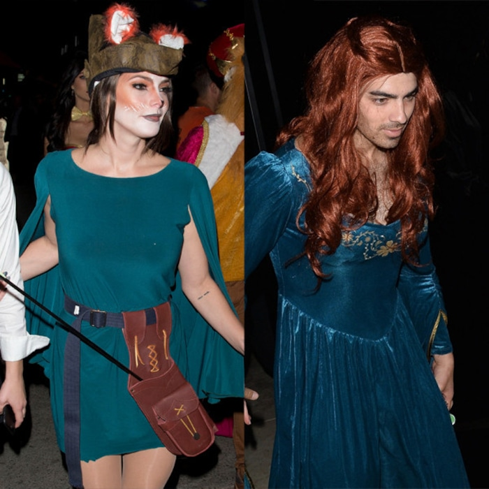 Joe Jonas And Ex Boo Ashley Greene End Up At Same Halloween Party
