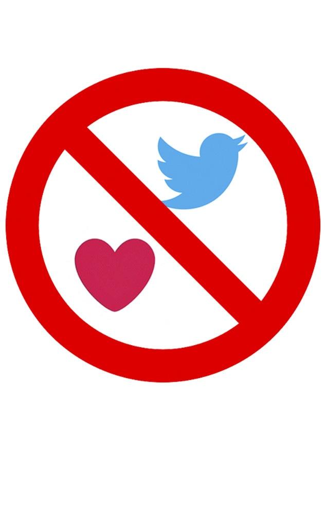 Twitter, logo, like button
