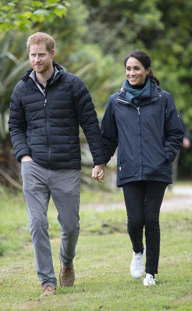 Prince Harry, Meghan Markle, New Zealand Royal Tour, PDA