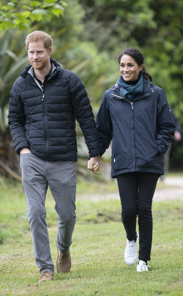 Prince Harry, Meghan Markle, New Zealand Royal Tour, PDA