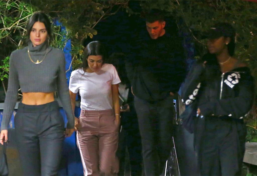 Kourtney Kardashian, Luka Sabbat, Kendall Jenner, Fai Khadra