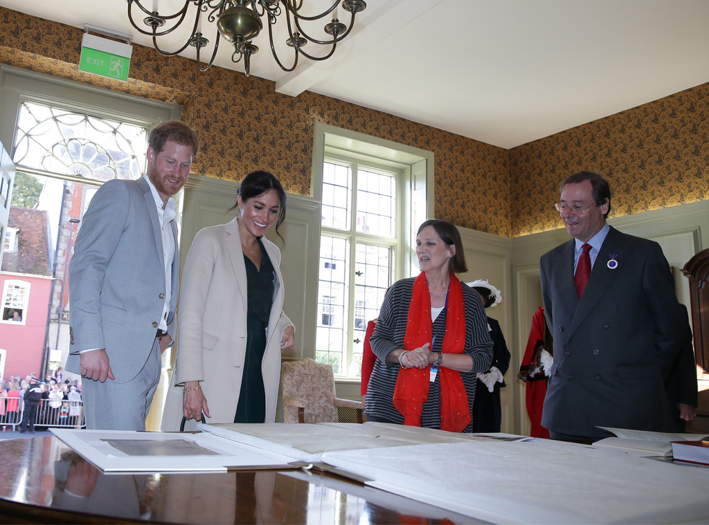 Prince Harry, Meghan Marke, Sussex Visit, Documents