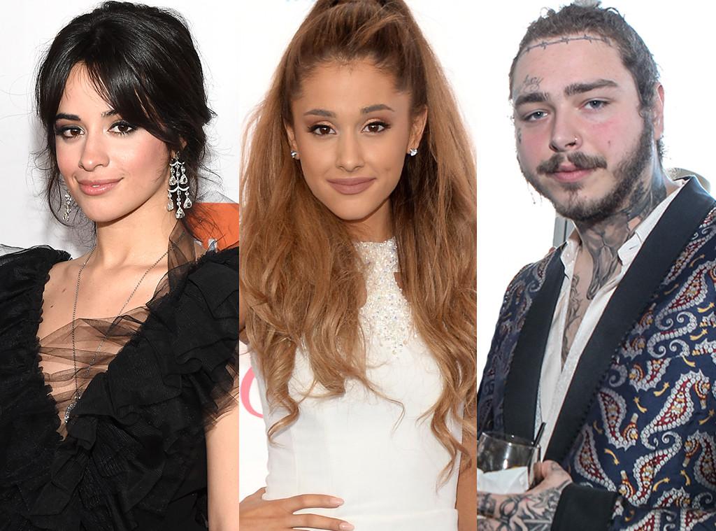Camila Cabello, Ariana Grande, Post Malone