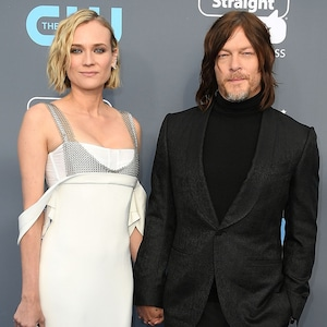 Diane Kruger, Norman Reedus, 2018 Critics' Choice Awards