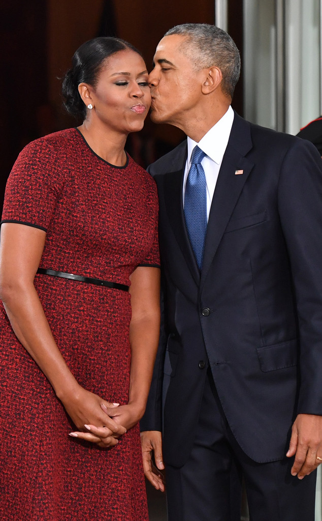 Barack Obama and Michelle Obama Celebrate Their Wedding ...