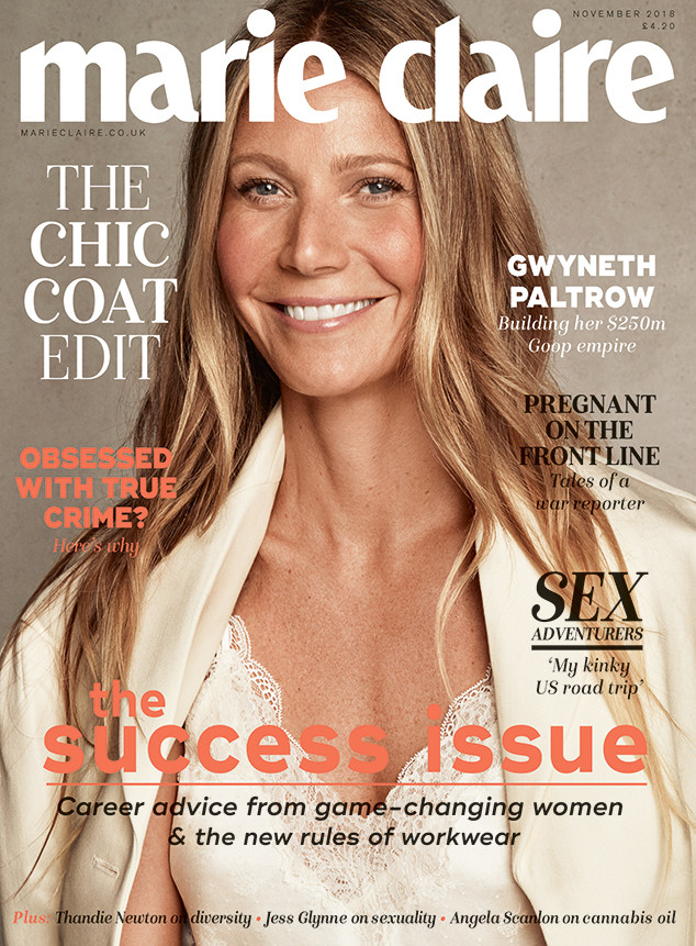 Gwyneth Paltrow, Marie Claire UK, November 2018