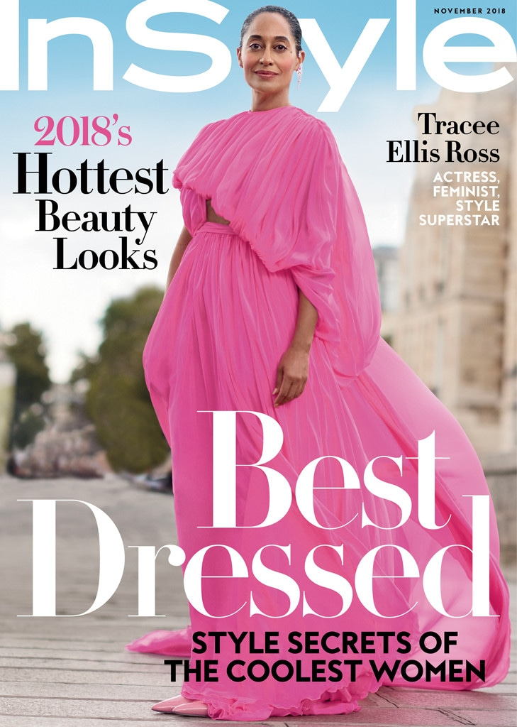 Tracee Ellis Ross, InStyle
