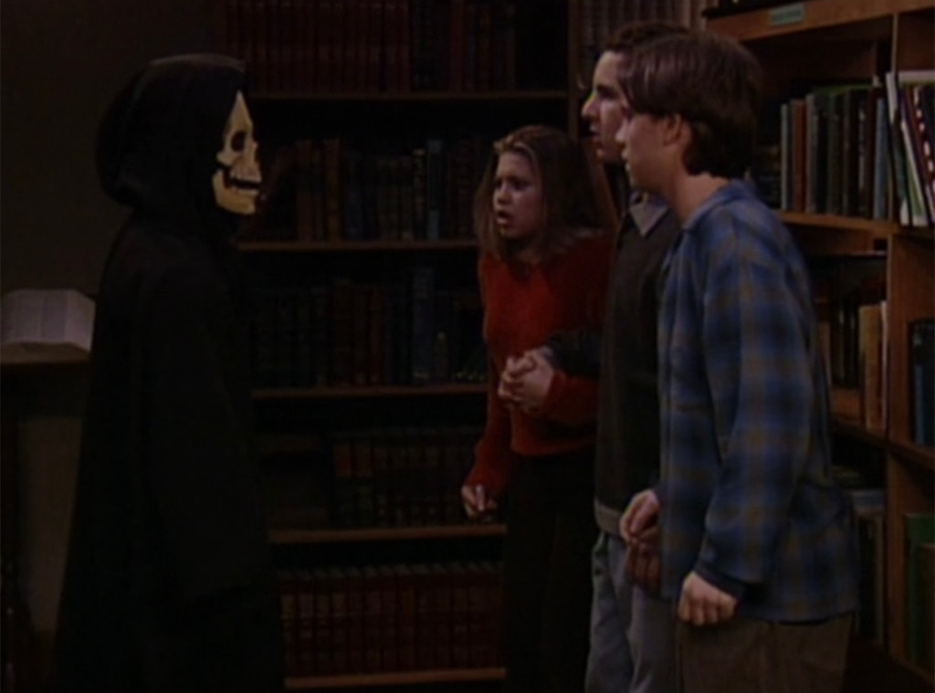 "Boy Meets World , ""And Then There Was Shawn"" -  As funny as this infamous episode is (mostly just thanks to Eric being…Eric), it's actually almost scary for being a TGIF sitcom (thanks to a kid getting murdered with a pencil). It's also an excellent parody of horror movies and features a cameo by  Jennifer Love Hewitt , all in less than half an hour."