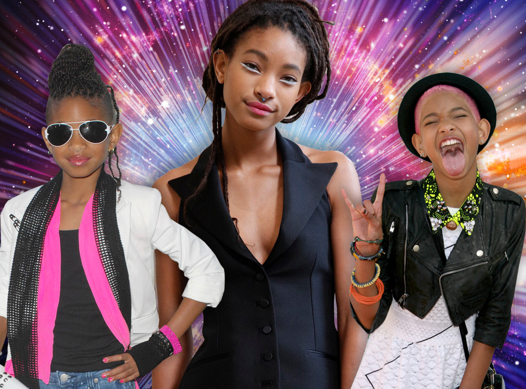 The Wildly Unpredictable Journey Of Willow Smith E News