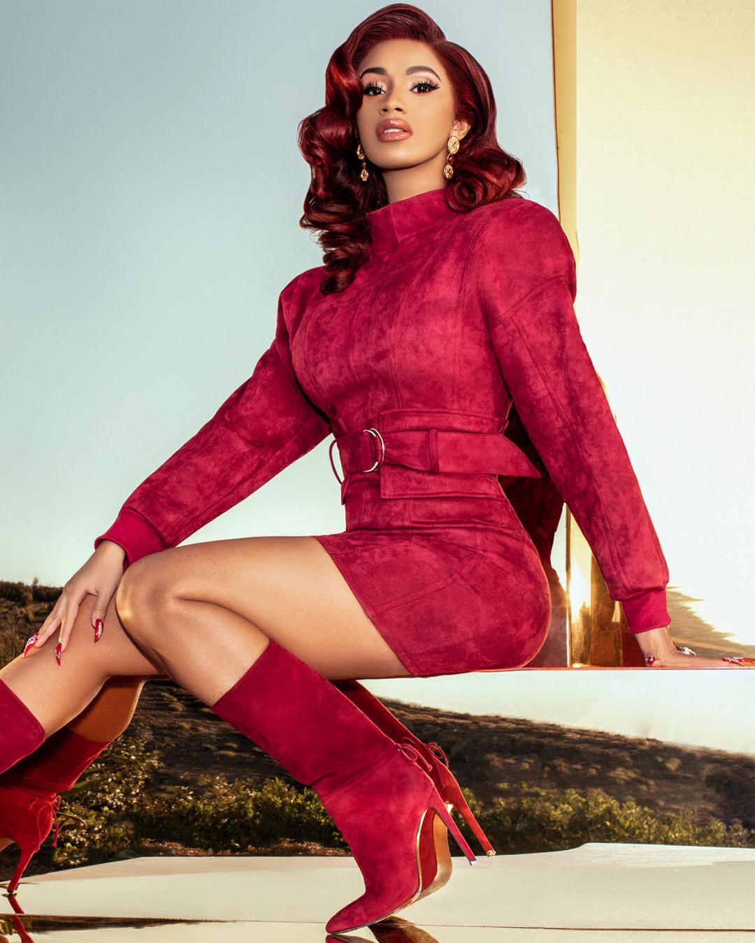 Cardi B Says Her Fashion Nova Line Looks High-End Like