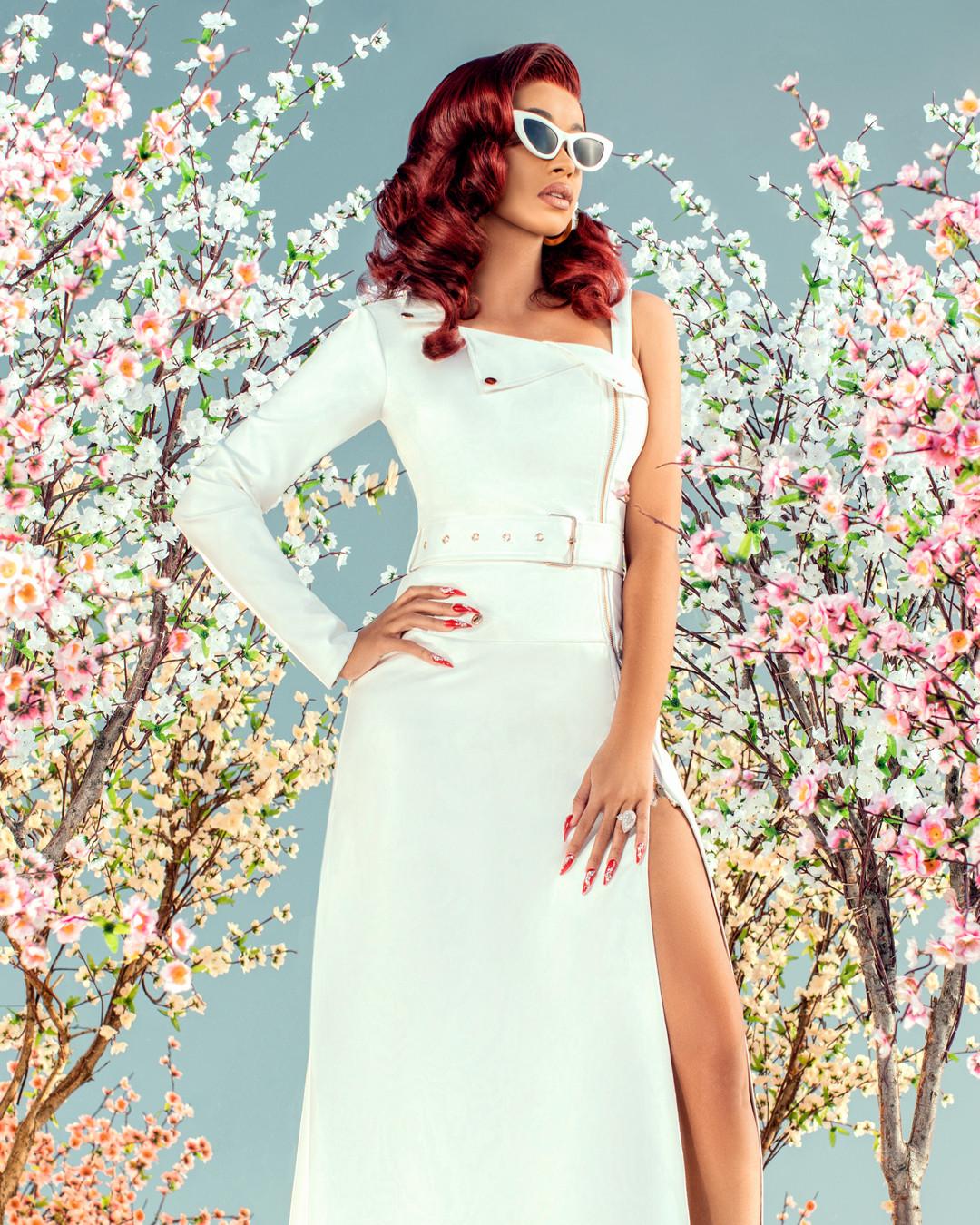 c95765ee4 Cardi B Says Her Fashion Nova Line Looks High-End Like Gucci | E! News