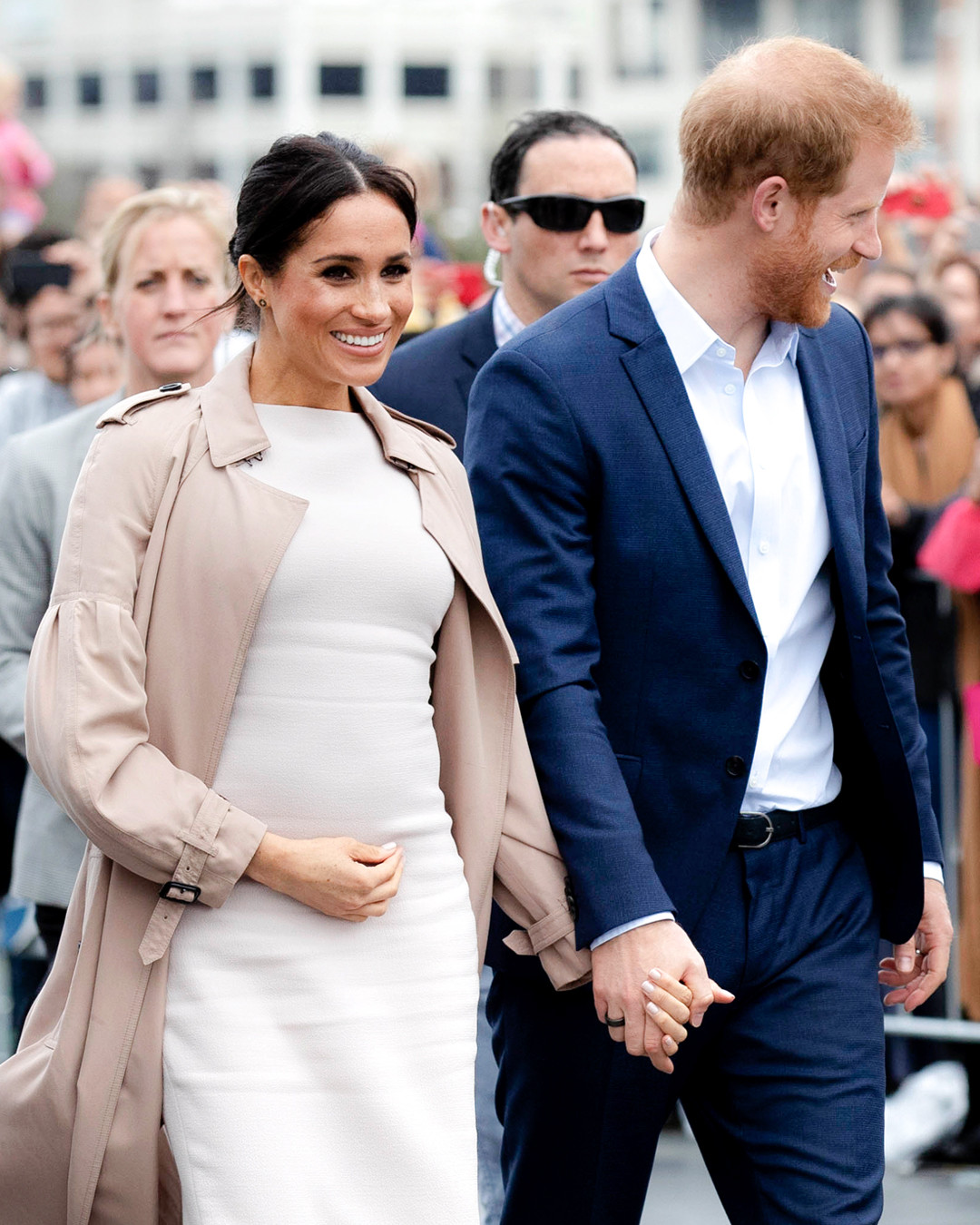7b2eeaeb68f17 See All of Meghan Markle's Chic Maternity Looks From Her Royal Tour ...