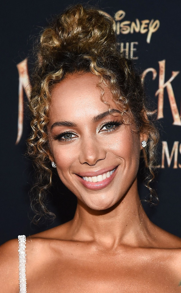 Leona Lewis -  Ms. Lewis looked breathtaking with her bronze glam andgolden curls styled in a messy updo.