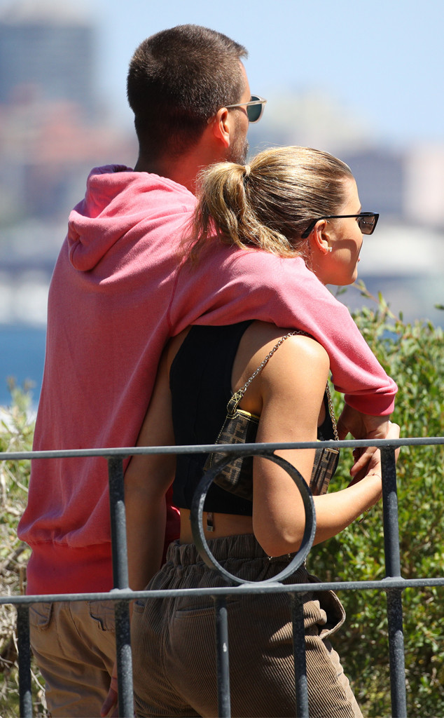 Scott Disick, Sofia Richie, Sydney