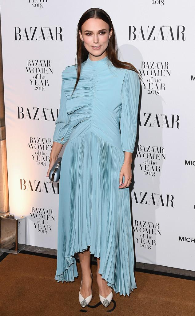 Keira Knightley, 2018 Harper's Bazaar Women of the Year Awards