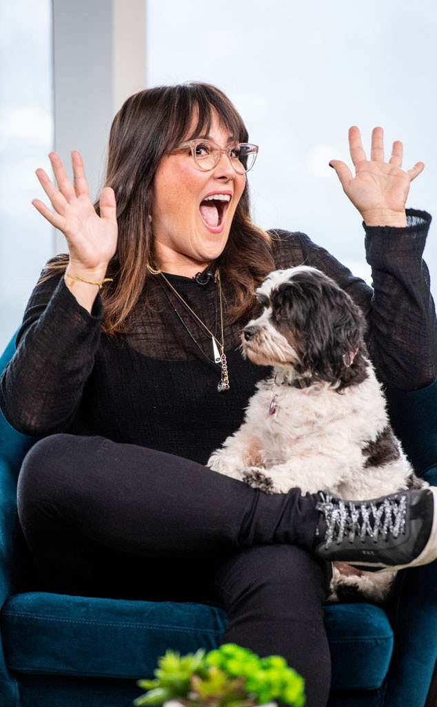 """Ricki Lake -  """"The Ricki Lake Show"""" alum opens up about finding her therapy dog to the  Daily Pop  hosts."""