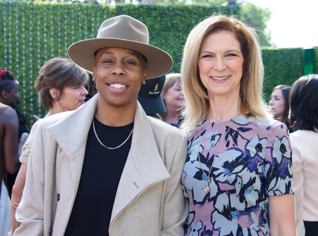 Lena Waithe & Dawn Hudson -  Lena and Dawn flashed their pearly whites for the cameras at the luncheon, which was also sponsored by Swarovski.